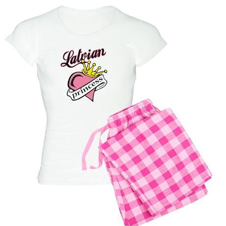 Latvian Princess Women's Light Pajamas
