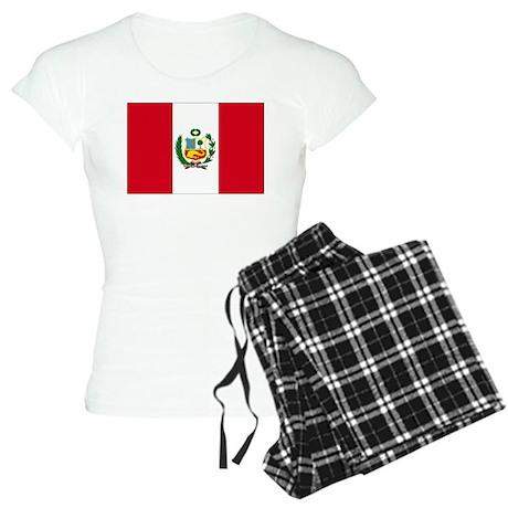 Peruvian Flag Women's Light Pajamas