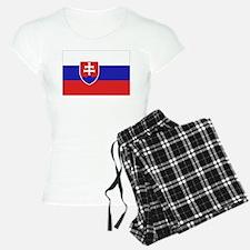Slovak Flag Pajamas