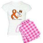 Leukemia Ribbon Dad Women's Light Pajamas
