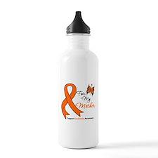 Leukemia Ribbon Mother Water Bottle