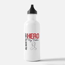 LungCancerHeroFather Water Bottle