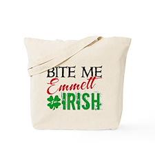 Bite Me Emmett - I'm Irish Tote Bag