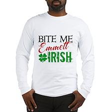 Bite Me Emmett - I'm Irish Long Sleeve T-Shirt