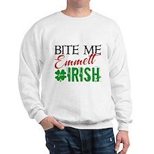 Bite Me Emmett - I'm Irish Sweatshirt