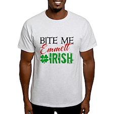 Bite Me Emmett - I'm Irish T-Shirt