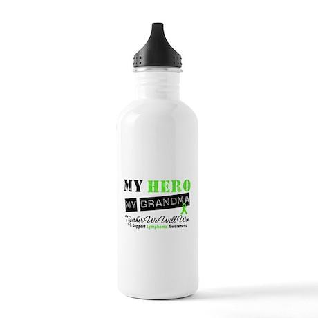 Lymphoma Hero Grandma Stainless Water Bottle 1.0L