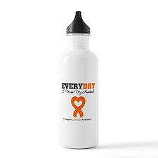 Leukemia MissMyHusband Water Bottle