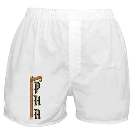 Masonic Prince Hall 2 Ball Cane Boxer Shorts