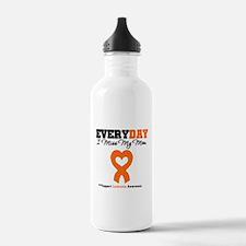 Leukemia MissMyMom Water Bottle