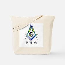 Masonic Prince Hall Tote Bag S&C + Cane
