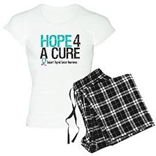 Thyroid Cancer Hope Cure Pajamas