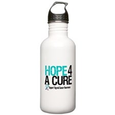 Thyroid Cancer Hope Cure Water Bottle