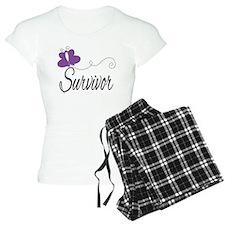Fibromyalgia Survivor pajamas