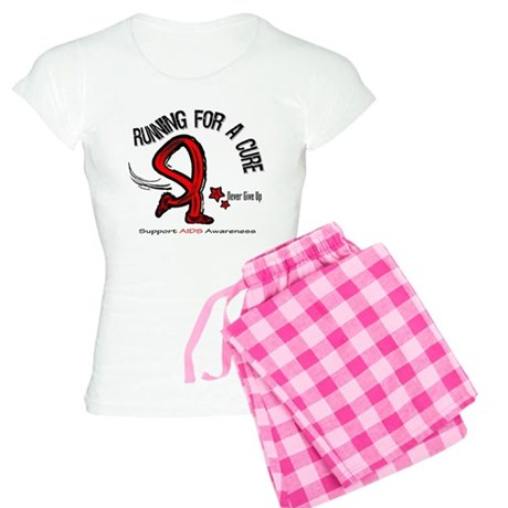 AIDS Running For A Cure Women's Light Pajamas