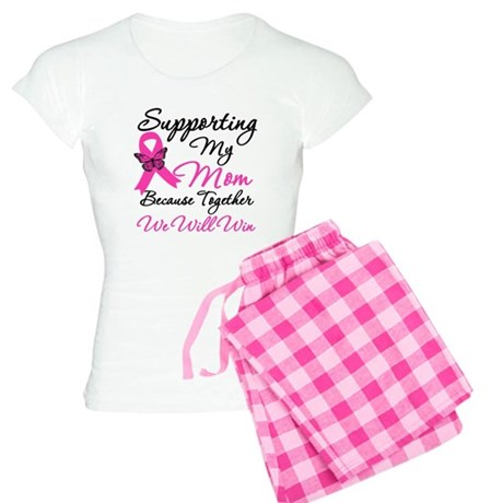 Breast Cancer Support Mom Women's Light Pajamas