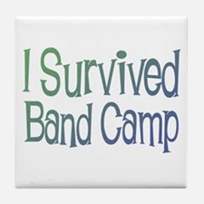 I Survived Band Camp Tile Coaster