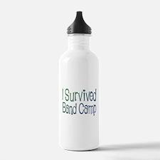 I Survived Band Camp Water Bottle
