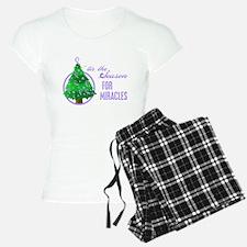 SeasonMiraclesCancer Pajamas