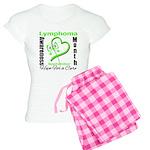 Lymphoma Awareness Month v4 Women's Light Pajamas