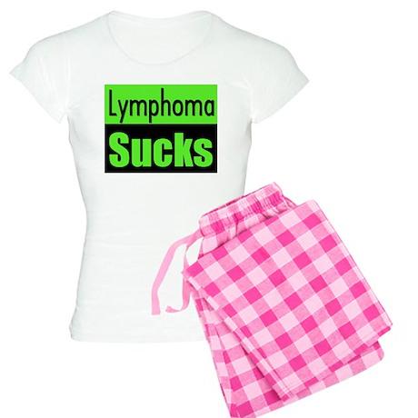 Lymphoma Sucks Women's Light Pajamas