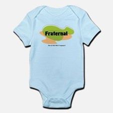 Fraternal (twin design) Infant Bodysuit