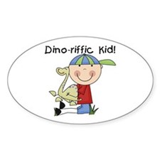 Dino-riffic Kid Decal