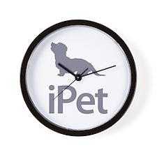 Dandie Dinmont Terrier Wall Clock