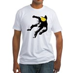 Space Walker Fitted T-Shirt