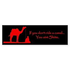 Shiite Camel Bumper Sticker