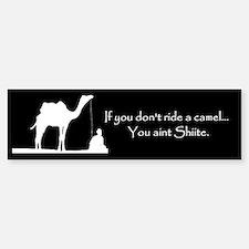 Shiite Camel Bumper Bumper Sticker