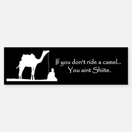 Shiite Camel Sticker (Bumper)