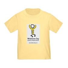 White/Yellow Wishbone Day T