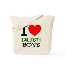 I Love Irish Boys Tote Bag