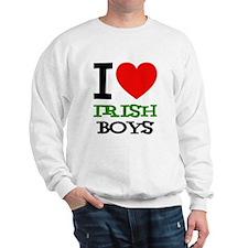 I Love Irish Boys Sweatshirt