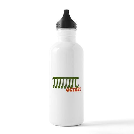 Ocotopi Pi Day Shirt T-shirt Stainless Water Bottl
