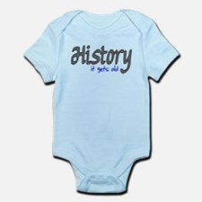 History It Gets Old Anti-Soci Infant Bodysuit