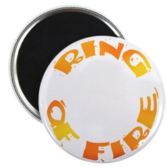RING OF FIRE XIII Magnet