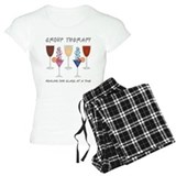 Group therapy healing one glass at a time T-Shirt / Pajams Pants