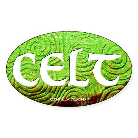 Celt Euro Oval Sticker