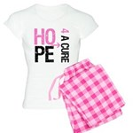 Hope Cure Breast Cancer Women's Light Pajamas