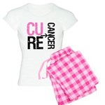 Cure (Breast) Cancer Women's Light Pajamas