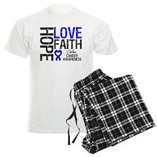Colon Cancer Faith Pajamas