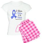 Hero - Esophageal Cancer Women's Light Pajamas