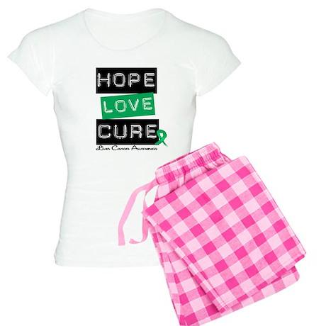 LiverCancerHope Women's Light Pajamas