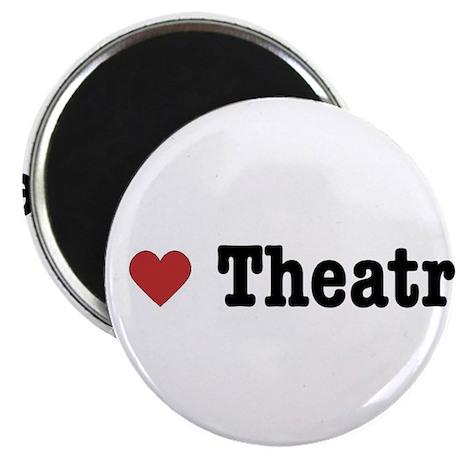 I Love Theatre Magnet