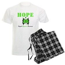 HopeButterfly Lymphoma pajamas