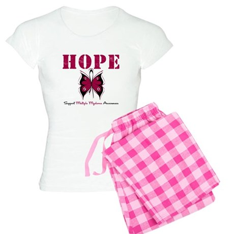 Multiple Myeloma Butterfly Women's Light Pajamas