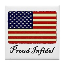 Proud Infidel Tile Coaster