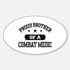 Proud Combat Medic Brother Decal